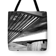 Geometry Lesson Palm Springs Tram Station Tote Bag