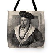 Georg Wilhelm Friedrich Hegel Tote Bag