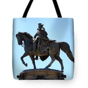 George And His Horse Tote Bag