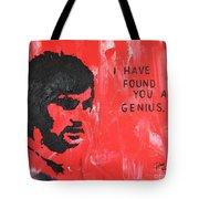 George Best Genius Tote Bag