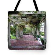 George Eastman Home Pergola Rochester Ny  Tote Bag