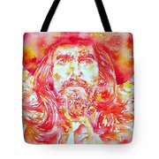 George Harrison With Hat Tote Bag