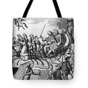 George IIi Cartoon, 1775 Tote Bag