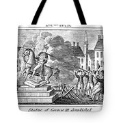 George IIi Statue, 1776 Tote Bag