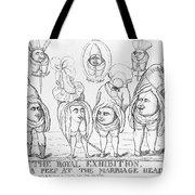 George Iv Wedding Tote Bag