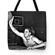 George Mikan Tote Bag by Florian Rodarte