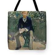 George Moore In The Artist's Garden Tote Bag
