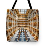 George Peabody Library I Tote Bag
