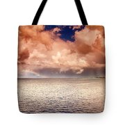 George Town-grand Cayman Rainbow After The Storm Tote Bag