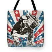 George Washington - Boombox Tote Bag