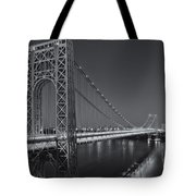 George Washington Bridge Twilight II Tote Bag
