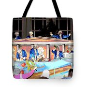 George Washington Float Side View Tote Bag