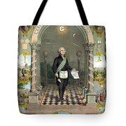 George Washington Freemason Tote Bag