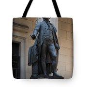 George Washington Statue Tote Bag