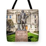 George Washington Statue Indianapolis Indiana Statehouse Tote Bag