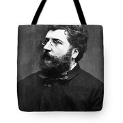 Georges Bizet (1838-1875) Tote Bag