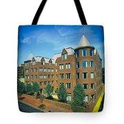 Georgetown Apartments - 1980s Tote Bag