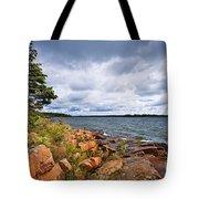 Georgian Bay Shore Tote Bag by Elena Elisseeva
