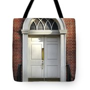 Georgian Door Tote Bag