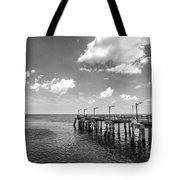 Georgia's St Simon's Island Pier Tote Bag