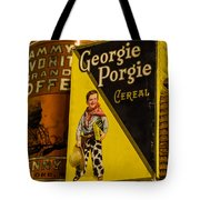 Georgie Porgie Tote Bag