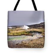 Geothermal Landscape  Tote Bag