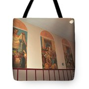 Gerald Mast Murals In Clare Michigan Tote Bag