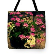 Geranium And Jasmine Tote Bag