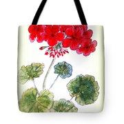 Geranium Tote Bag