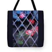 Geraniums Under Glass In Wales Tote Bag