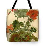 Geraniums Tote Bag by Philip Ralley