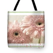 Gerber Daisy Happiness 3 Tote Bag