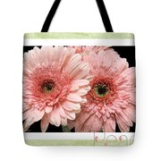 Gerber Daisy Peace 4 Tote Bag