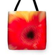 Gerbera Daisy Abstract Tote Bag