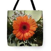 Gerbera Daisy Tote Bag by Jeff Kolker