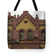 german architecture in China Tote Bag