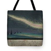 German Comet Illustration Tote Bag