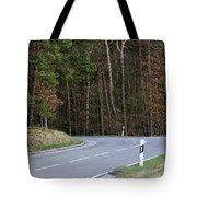 German Country Road Tote Bag