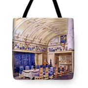 German Dining Hall, Early 20th Century Tote Bag