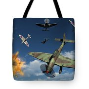 German Ju 87 Stuka Dive Bombers Tote Bag