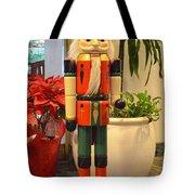 German Nutcracker - Frohe Weihnachten Tote Bag