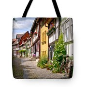 German Old Village Quedlinburg Tote Bag