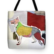 German Shepherd Tote Bag by Michel Keck