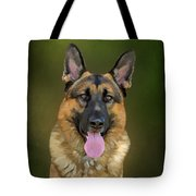 German Shepherd Portrait II Tote Bag