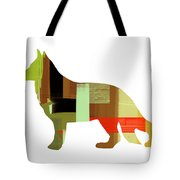 German Sheppard 2 Tote Bag by Naxart Studio