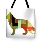 German Sheppard 2 Tote Bag by Naxart Studio