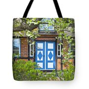 German Timber-framed Country House Tote Bag
