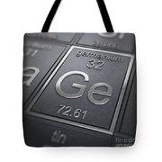 Germanium Chemical Element Tote Bag