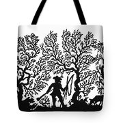 Germany Silhouette Tote Bag
