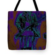 Geronimo With Rifle C.s. Fly Photo 1887-2008 Tote Bag